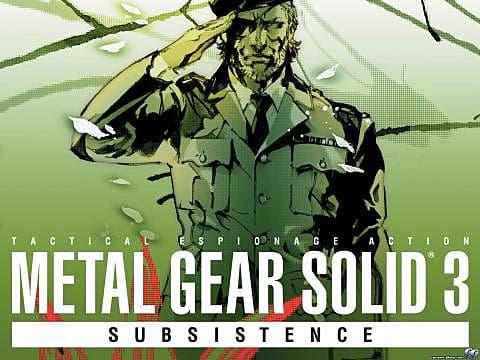 Metal Gear Solid PS2